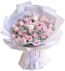 妙恋物语 - 33朵粉玫瑰