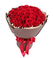 热恋:红玫瑰50枝