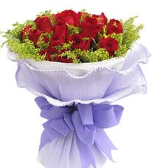 一生有你:19枝顶级红玫瑰
