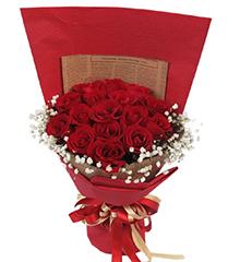 花火:16枝红玫瑰