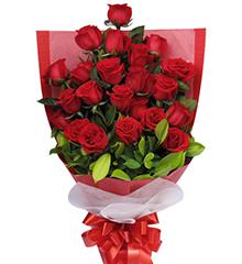 浪漫的约定:21枝红玫瑰