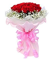 牵手一生:19枝顶级红玫瑰