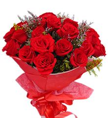 热情如火:红玫瑰22枝