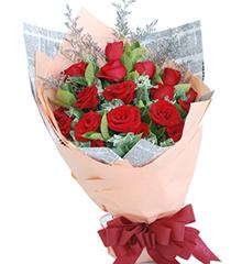 倾心:19枝红玫瑰