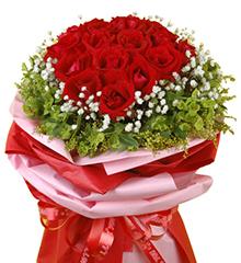 爱的焰火:顶级红玫瑰20枝