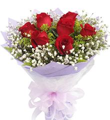 渗透的思念:红色玫瑰9枝