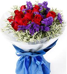 今生依靠:红玫瑰11枝