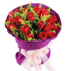 一往情深:19枝红玫瑰