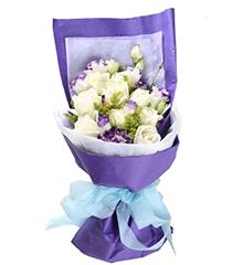想念:白玫瑰10朵