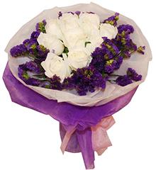 我的唯一:11朵白玫瑰