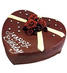 浓情:心形巧克力蛋糕,生日蛋糕