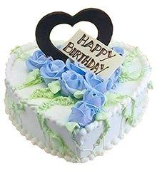 蓝色爱恋:鲜奶蛋糕