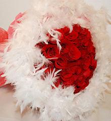 矢志不渝:红玫瑰33朵