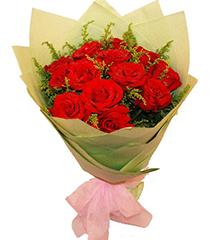 热恋玫瑰:13朵红玫瑰