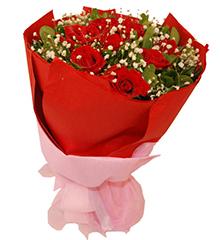 爱的火焰:11枝红玫瑰