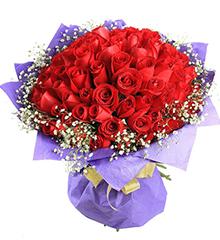 浪漫的日子:99枝红玫瑰