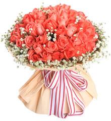久久:99枝粉玫瑰
