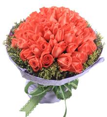 粉色回忆:99枝粉玫瑰