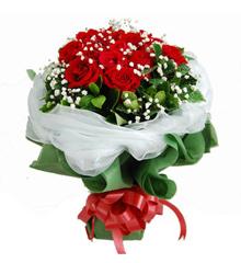 知心的你:16枝红玫瑰花束送上海北京深圳广州 鲜花速递网