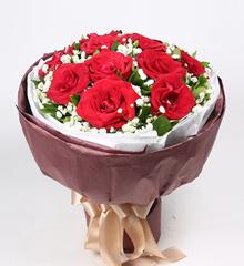 你的笑语:11朵红玫瑰