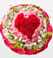 母爱无价:母亲节礼物 66朵康乃馨
