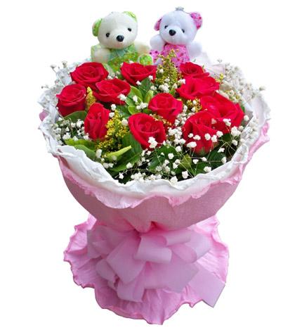 一生一世:红玫瑰11枝