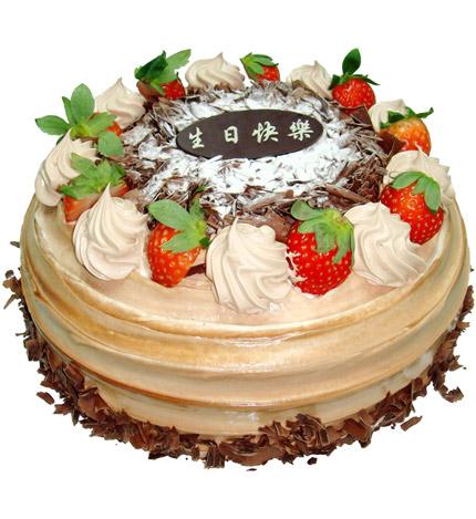 寻梦:圆形巧克力蛋糕