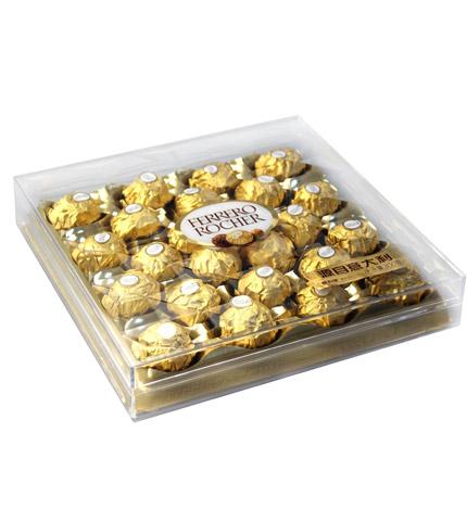 费列罗-榛果威化巧克力:费列罗24粒装